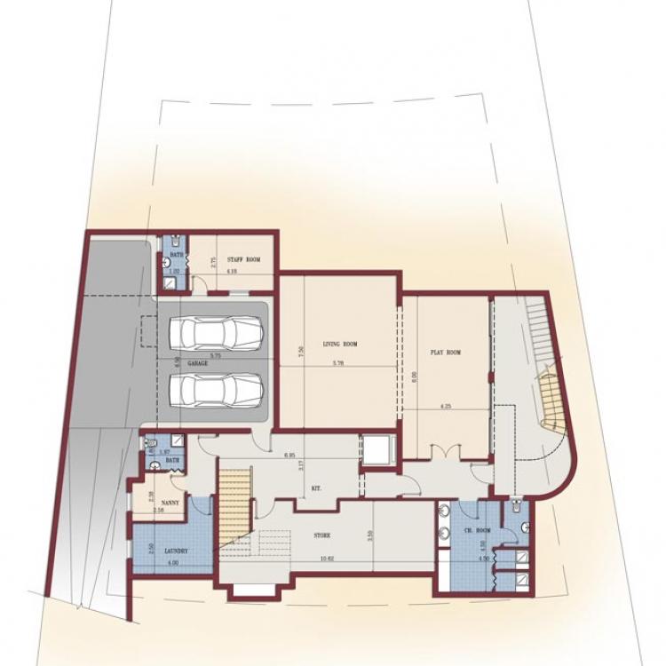 Basement-floor
